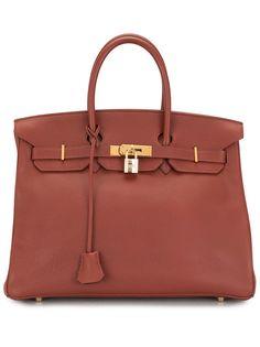 Hermès сумка-тоут Birkin 35 2001-го года Hermes