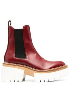 Stella McCartney ботинки челси Emilie на платформе