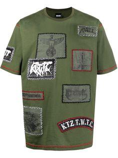KTZ футболка с нашивками