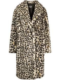 Boutique Moschino шуба с леопардовым принтом