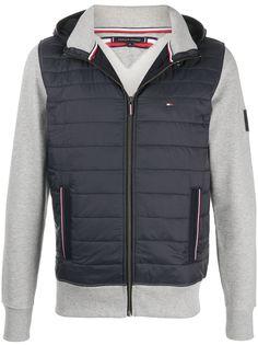 Tommy Hilfiger легкая куртка со вставками