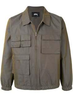 Stussy куртка в стиле милитари