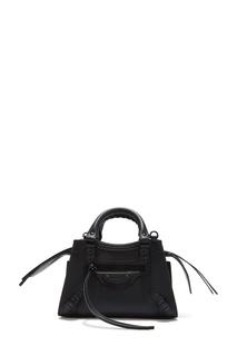 Черная кожаная сумка Neo Classic Balenciaga