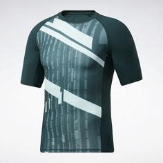 Компрессионная футболка Printed Compression Top Reebok