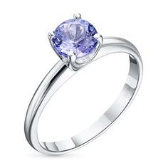 Кольцо из серебра с танзанитом э0608кц11102400 ЭПЛ Якутские Бриллианты