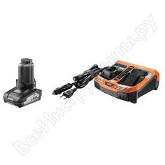 Аккумулятор l1240 (12 в; 4.0 а*ч; li-ion) + зарядное устройство blk1218 + сумка aeg setl1240blk 4932451628