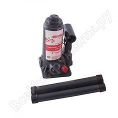 Гидравлический бутылочный домкрат skyway 2т h 148-278 мм с клапаном в коробке+сумка s01804007