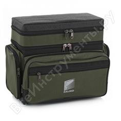 Рыболовный, зимний, пенопластовый, 2-х ярусный ящик-рюкзак salmo h-2lux
