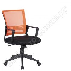 Кресло оператора, с подлокотниками, комбинированное черное/оранжевое, brabix balance mg-320 531832