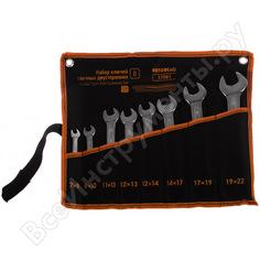 Набор рожковых ключей 8шт сумка автоdело professional 37081 10920