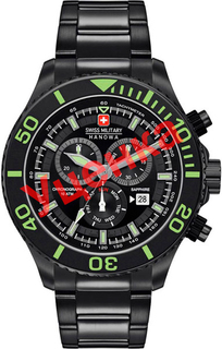 Швейцарские мужские часы в коллекции Navy Мужские часы Swiss Military Hanowa 06-5226.13.007-ucenka