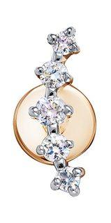 Золотые серьги Серьги Vesna jewelry 41212-151-00-01