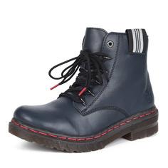 Ботинки Синие ботинки из экокожи Rieker