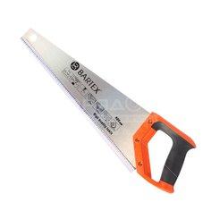 Ножовка по дереву Bartex Profi с закаленными зубьями 7TPI, 400 мм