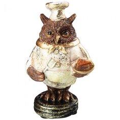 Фигурка декоративная Сова 79-153, 6.5 см