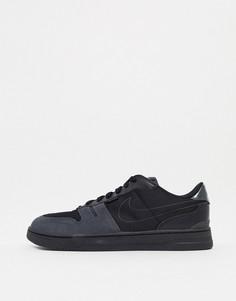 Черные кроссовки Nike Squash Type-Черный цвет