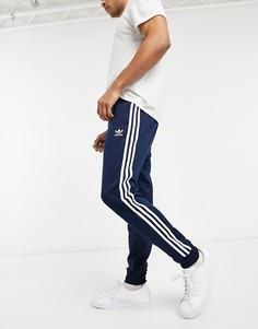 Темно-синие зауженные джоггеры adidas Originals Superstar-Темно-синий