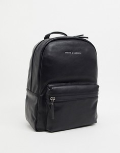 Рюкзак с карманом спереди Smith & Canova-Черный цвет