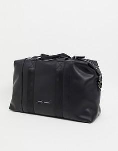 Спортивная сумка с ручками Smith & Canova-Черный цвет