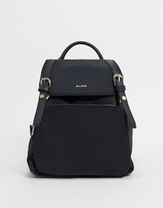 Черный рюкзак из переработанного полиэстера с золотистой фурнитурой ALDO Rella-Черный цвет