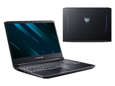 Ноутбук Acer Predator Helios 300 PH315-53-73AK NH.Q7YER.002 (Intel Core i7-10750H 2.6GHz/16384Mb/1Tb SSD/nVidia GeForce RTX 2060 6144Mb/Wi-Fi/15.6/1920x1080/DOS)