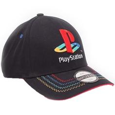 Головной убор Difuzed Бейсболка Playstation: Retro Logo Adjustable DIFUZED Головной убор Difuzed Бейсболка Playstation: Retro Logo Adjustable