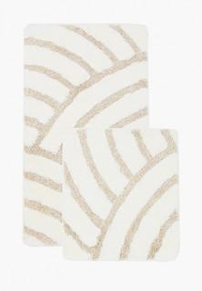 Комплект ковриков Chilai Home для ванной, 60x100 и 50x60см