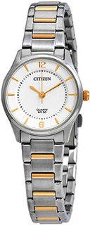 Японские наручные женские часы Citizen ER0201-72A. Коллекция Elegance