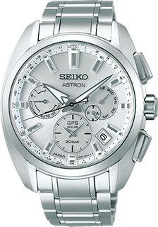 Японские наручные мужские часы Seiko SSH063J1. Коллекция Astron