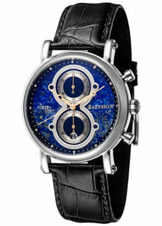 мужские часы Earnshaw ES-8115-01. Коллекция MaskelyneChronograph