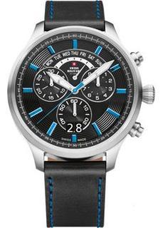 Швейцарские наручные мужские часы Swiss military SM34038.06. Коллекция Oversized Sports