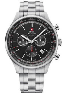 Швейцарские наручные мужские часы Swiss military SM34081.01. Коллекция Classic