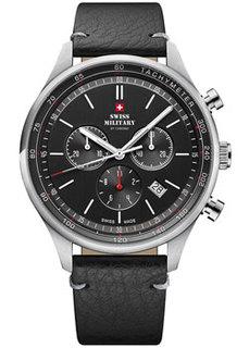 Швейцарские наручные мужские часы Swiss military SM34081.06. Коллекция Classic