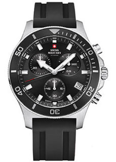 Швейцарские наручные мужские часы Swiss military SM34067.07. Коллекция Sports