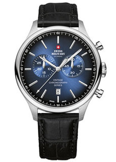 Швейцарские наручные мужские часы Swiss military SM30192.08. Коллекция Vintage