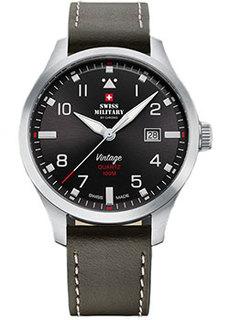 Швейцарские наручные мужские часы Swiss military SM34078.04. Коллекция Pilot