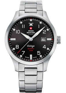 Швейцарские наручные мужские часы Swiss military SM34078.01. Коллекция Pilot