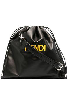 Fendi сумка через плечо Fendi Roma с кулиской