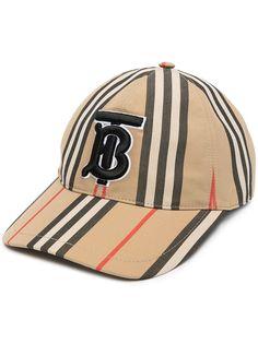 Burberry бейсболка в полоску Icon Stripe