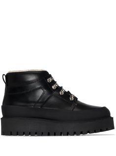 GANNI ботинки с подкладкой