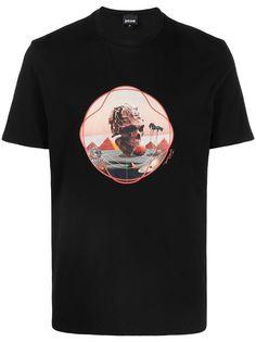 Just Cavalli футболка с короткими рукавами и графичным принтом