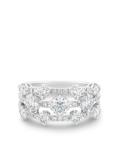 De Beers кольцо Arpeggia из белого золота с бриллиантами