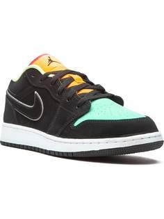 Jordan Kids кроссовки Jordan 1 Low SE Aurora Green