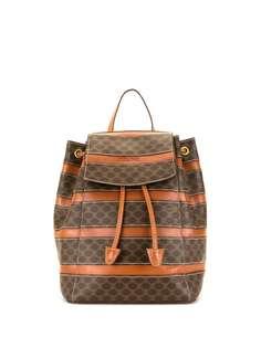 Céline Pre-Owned рюкзак pre-owned с узором Macadam