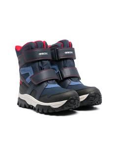 Geox Kids ботинки с нашивкой-логотипом
