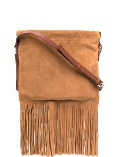 A.P.C. сумка через плечо с бахромой