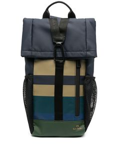 PS Paul Smith полосатый рюкзак на одно плечо