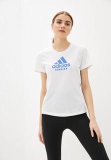 Футболка adidas RUN LOGO TEE W