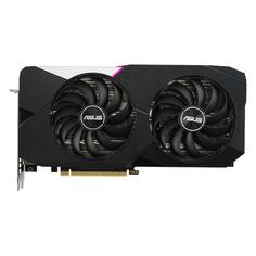 Видеокарты Видеокарта ASUS nVidia GeForce RTX 3060Ti , DUAL-RTX3060TI-O8G, 8ГБ, GDDR6, OC, Ret