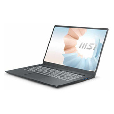 "Ноутбуки Ноутбук MSI Modern A11SB-040RU, 15.6"", IPS, Intel Core i5 1135G7 2.4ГГц, 8ГБ, 512ГБ SSD, NVIDIA GeForce MX450 - 2048 Мб, Windows 10, 9S7-155226-040, черный"